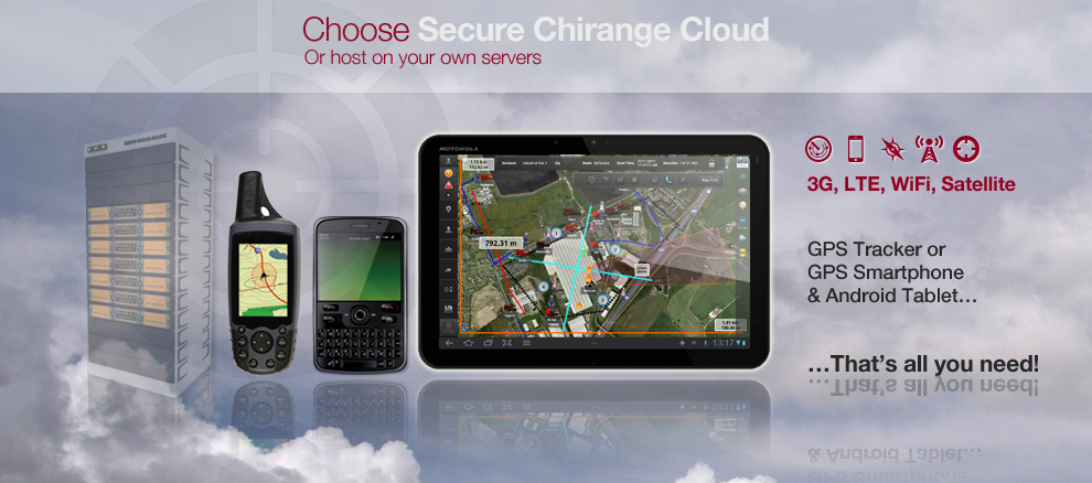 Choose Secure Chirange Cloud or Host On Your Own Servers